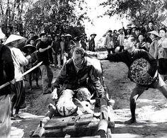 USAF Pilot Willard Gideon, shot down and captured in 1966 in North Vietman, released in 1973 (Photo Van Bao) ~ Vietnam War