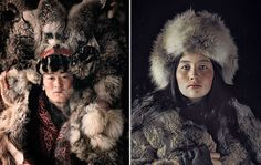 Retrato x 2: Kazajo, Mongolia
