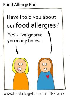 A few teachers and relatives will never believe the dangers of food allergies. I never give up explaining food allergies to  anyone that takes the time to listen. Some people are interested and really try to keep our kids safe around food. So, thank you to all the teachers, servers, chefs & family that care!!!