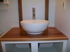 Aquasource White Vessel Bathroom Sink