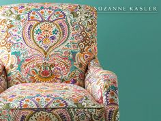 Fun upholstered chair