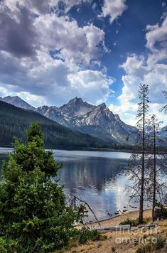 Stanley Lake View by Robert Bales ~ Idaho, United States Great Places, Places To See, Beautiful World, Beautiful Places, Beau Site, All Nature, Lake View, Photos Du, Lonely Planet