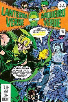Cover for Invictus (formatinho, 1ª Série) [Lanterna Verde, Arqueiro Verde e Flash] (Editora Brasil-América [EBAL], 1977 series) #8