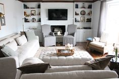 Our Living Room - Julie Blanner entertaining & home design that ...