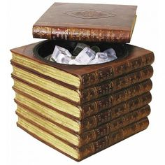 Ice Bucket concealed within 'Faux Books' - Desktop