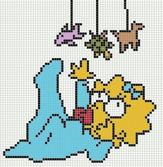 DeviantArt is the world's largest online social community for artists and art enthusiasts, allowing people to connect through the creation and sharing of art. Cross Stitch Cards, Beaded Cross Stitch, Cross Stitching, Cross Stitch Patterns, Graph Paper Drawings, Graph Paper Art, Slip Stitch Crochet, Crochet Chart, Diy Perler Beads
