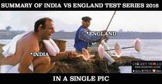 #INDvENG #TeamIndia #TestMatch #CricketTrolls Brief story of INDIA vs ENGLAND Test Series 2016 For more cricket trolls click: http://ift.tt/2gY9BIZ - http://ift.tt/1ZZ3e4d