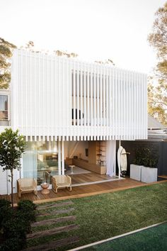 Workers House by Clayton Orszaczky Architects - Sydney Design Gallery - The Local Project Architecture Design, Facade Design, Ancient Architecture, Sustainable Architecture, Pavilion Architecture, Residential Architecture, Contemporary Architecture, Contemporary Houses, Classical Architecture