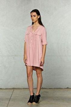 Bobbi Shirt Dress - Ayla Collection
