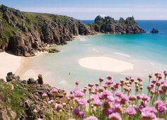 Porthcurno in Cornwall, a favourite place, a beautiful tranquil haven