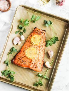 easiest honey garlic salmon