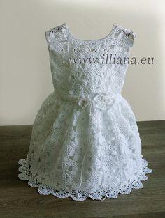 Crochet dress. Pattern No 81 by Illiana on Etsy