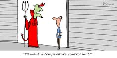 When choosing your next storage unit, remember that the devil is in the details! #selfstorage #funnyfridays #cartoon