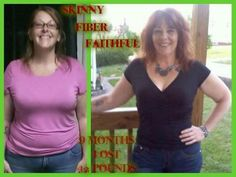 She lost 42 pounds with Skinny Fiber and over 100 inches on her body. How did she do it?