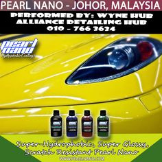 Alliance Detailing Hub had involved in Malaysia car detailing & car coating services. Our main product line are now the world wide well known Pearl Nano Coating series products and Hilustre Car Care series. products. call 010 - 766 3634 Now!  For Interested Distributors and Dealers of Pearl Nano please contact Dave: Dave@PearlUSA.net or Call: 808 779–7163. Visit www.pearlnano.com #wynehub #alliancedetailinghub #pearlmalaysia