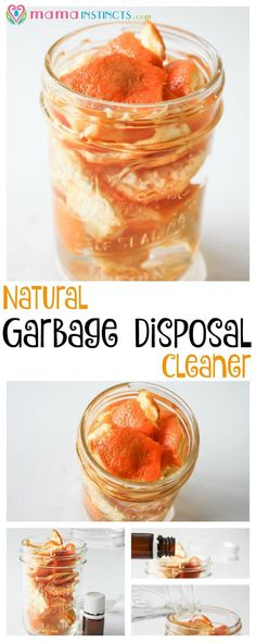 If you're looking for a way to naturally clean your garbage disposal and get rid of the bad smell, try this natural garbage disposal cleaner recipe. It's safe, non-toxic and it works! Click to read or pin it for later.