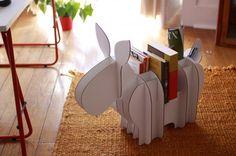Donko, l'asino di cartone multitasked che per Natale diventa renna | Design In