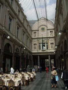 Galeries Royales St. Hubert travel-and-places