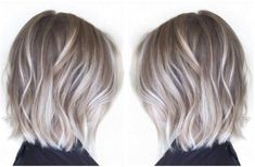 Ash balayage is the latest hair colour trend, and we are IN LOVE ......