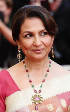 Sharmila Tagore! Elegant and quite well spoken
