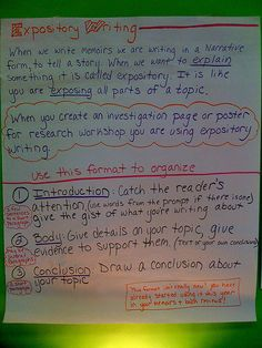 Expository Writing Introduction By the time students enter high school, they have learned about many moments in history that have influenced our world today.  Think about a moment in history you studied and consider its importance.  Write a composition in which you discuss a moment in history. Share its importance in today's world. Be sure to support the moment with details and examples.