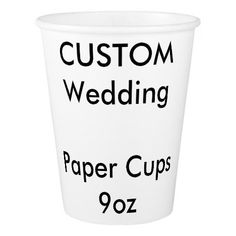 Custom Paper Disposable Cups
