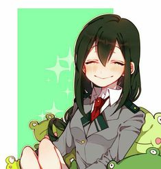 Find images and videos about boku no hero academia and tsuyu on We Heart It - the app to get lost in what you love. Tsuyu Asui, My Hero Academia Tsuyu, Buko No Hero Academia, My Hero Academia Manga, Manga Anime, Otaku Anime, Anime Art, Hero Academia Characters, Anime Characters