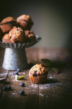 How to Make Blueberry Muffins at Home | The Storied Recipe