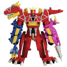 Buy Power Rangers Deluxe Dino Charge Megazord at Argos.co.uk - Your Online Shop for Action figures and playsets.