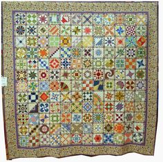 "Sylvia's Bridal Sampler, 98 x 98"", by Christine Taylor, 2013 DVQG.  Photo by Quilt inspiration."