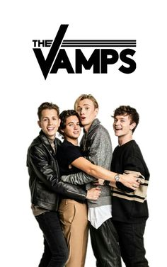 Brad Simpson Connor Ball James McVey Tristan Evans The Vamps Wallpaper James The Vamps, Brad The Vamps, Bradley Simpson, Vamps Band, Somebody To You, Will Simpson, Band Wallpapers, Pop Rock, Band Logos