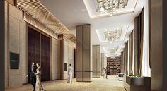 Lobby Design, Resort Villa, Curtains, Room, Banquet, Furniture, Meet, Interiors, Space