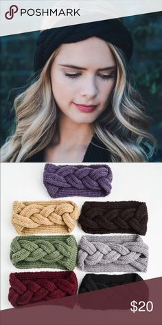 ❣️LAST ONE❣️Black Braided Knit Headband One of Fall's best accessories! Snag this on up quick! This Braided Knit Headband is 100% acrylic. Please note the only available color right now is BLACK.  **Price is firm. Swanky Coconut Accessories
