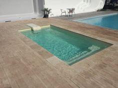 mini piscine Swimming Pool Designs, Swimming Pools, Small Terrace, Small Pools, Cool Pools, Outdoor Decor, Natural Pools, Recherche Google, Landscaping