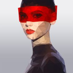 [Low Poly Effect] Create A Geometric Portrait In Photoshop - Stock Photography Blog/Vector Illustration Blog by 123RF