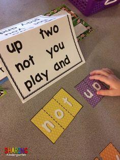How I Teach Sight Words in Kindergarten - Sharing Kindergarten