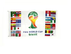 2014 FIFA World Cup Brazil 3x5 Flag
