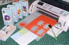 I had been eyeing the Cricut for quite a while, before I actually got my hands on one. My husband caught me dreaming about all the possibilities...