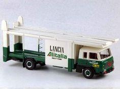 ABC284AV - FIAT 672 BISARCA SCUDERIA LANCIA ALITALIA 1977 LONG WHEELBASE