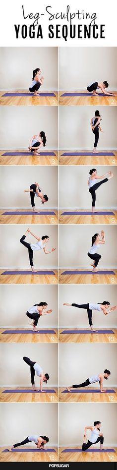 Leg Sculpting #Yoga Sequence #YogaforFlexibility