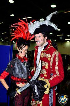 Rufio and Hook | Wizard World Ohio Comic Con 2014