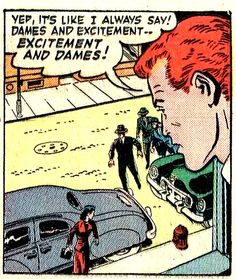 "Comic Boys Say....""Yep! It's like I always say... #comic #vintage #popart"