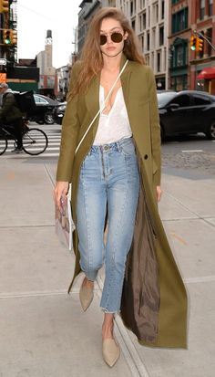 7 Trends to Shop Now - backless shoes, inspired by Gigi Hadid