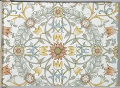 Wallpaper by William Morris & Co. 美術工芸品