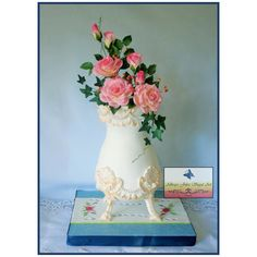 """Granny's Antique Vase"" - Cake by Allways Julez"