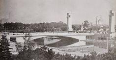 Ponte das Bandeiras Ano: década de 1940? ou 1970? Autor: desconhecido // São Paulo em Preto & Branco: Abril 2015