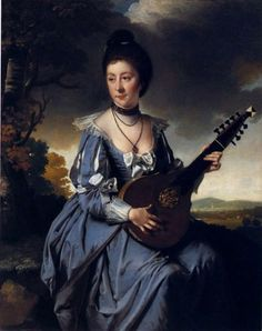 Mrs. Robert Gwillym (1766). Joseph Wright of Derby (English, 1734-1797). Oil on canvas - Pinterest