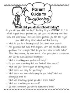 Send home this guide to help your parents communicate with their children about…