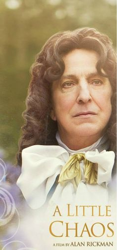 Alan Rickman as King Louis XIV in his directorial film, A Little Chaos.touched my heart :) Period Movies, Period Dramas, Alan Rickman Always, Alan Rickman Movies, A Little Chaos, Alan Rickman Severus Snape, Emma Thompson, Piece Of Music, Best Actor