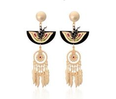 The red indian earrings!